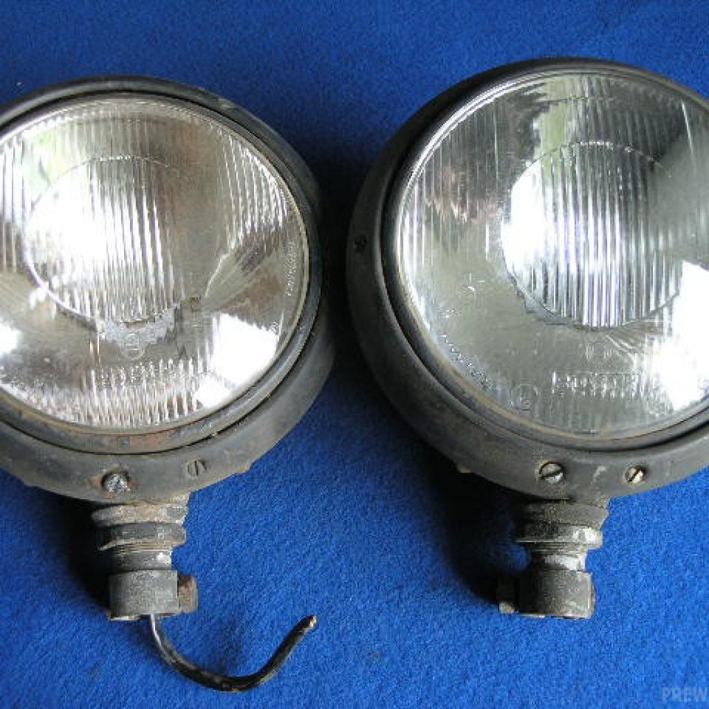 Paar Bosch Scheinwerfer
