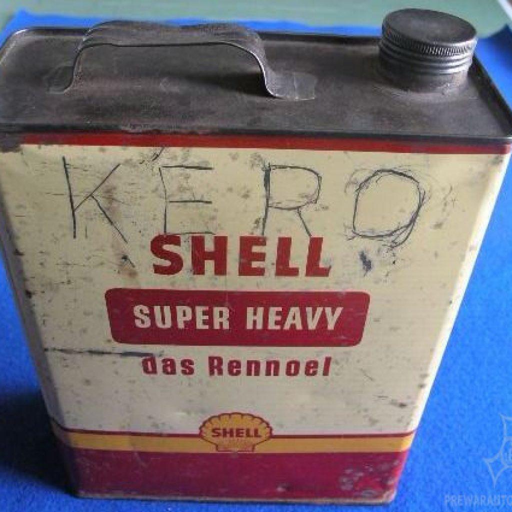 5 Liter Shell Rennwagenöl Kanister