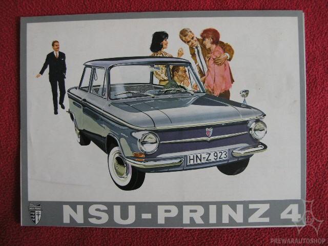 Werbung NSU Prinz 4