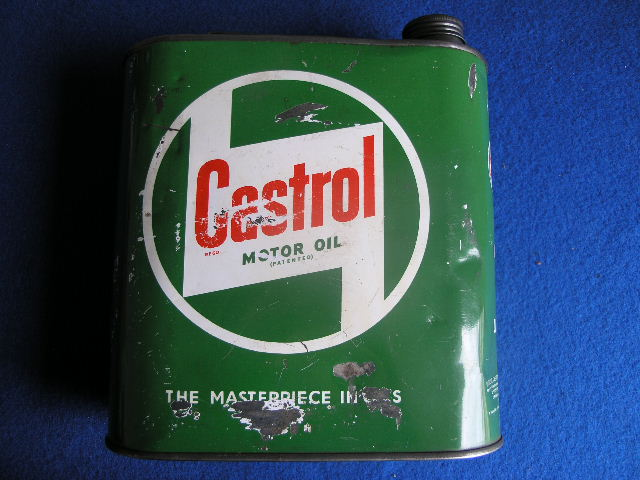 2 Liter Castrol Ölkanister