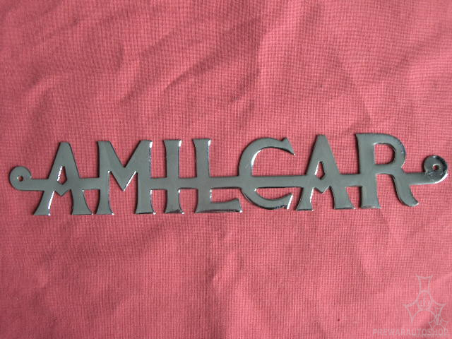Amilcar Kühler-Emblem