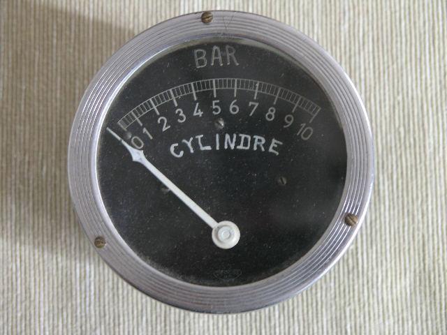 Cylinder Manometerdruck