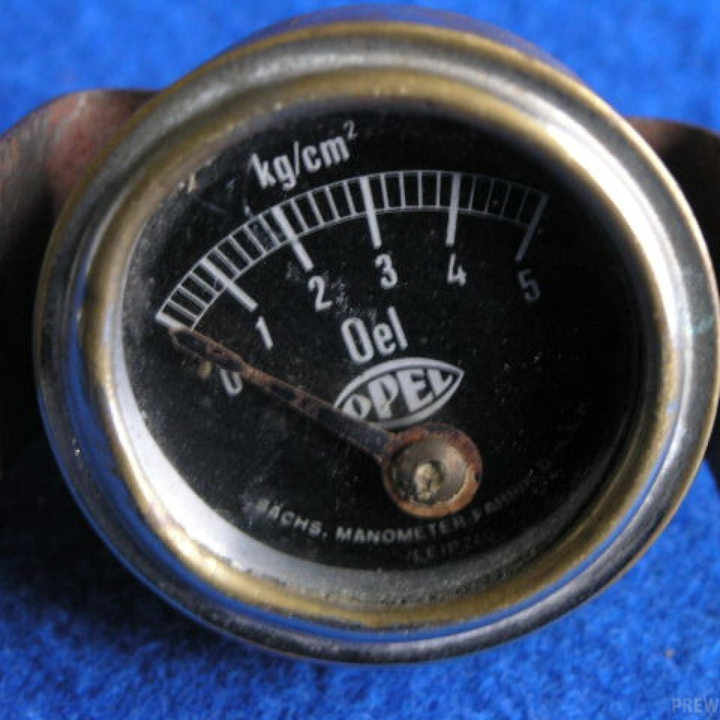 Opel Öldruckmanometer