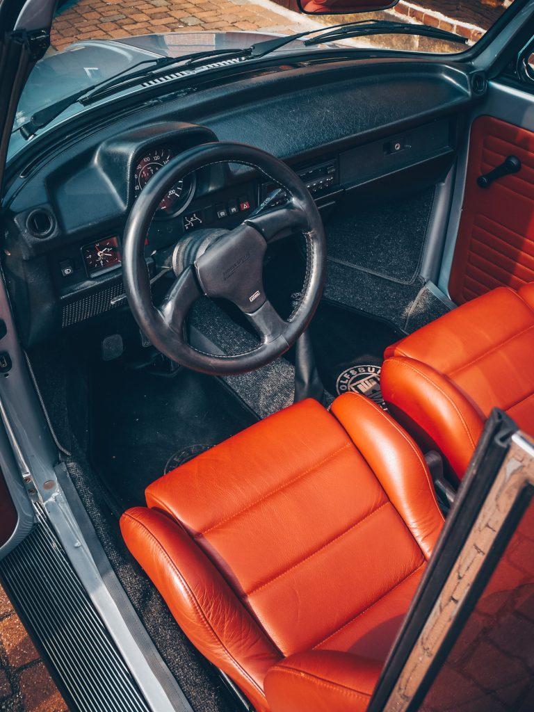 VW Käfer Cabrio 2,2 Liter Typ 4 ca. 130 PS Recaro Leder rot
