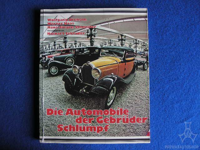 Buch Sammlung Schlumpf Bugatti