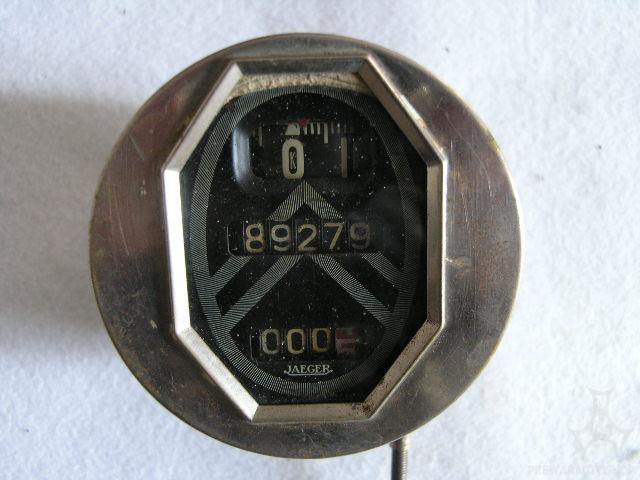 Citroën Jaeger-Tachometer