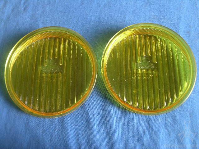 Paar Bosch A 1219 gelbe Gläßer
