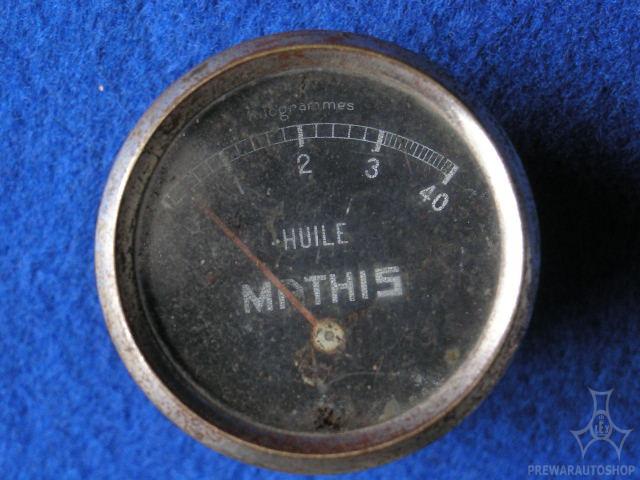 Mathis  Öldruckmanometer