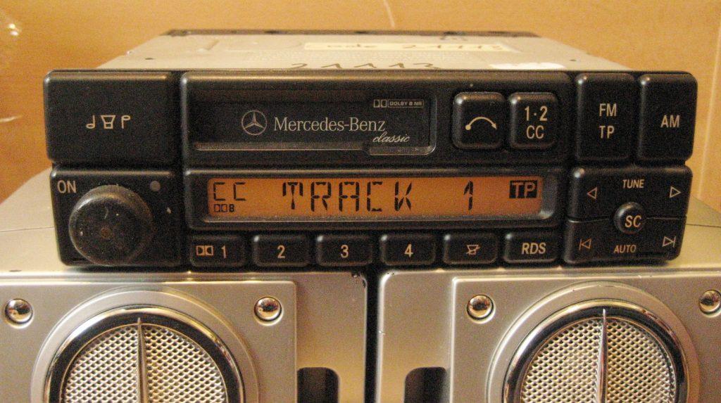 Becker Classic BE1150 für Mercedes W124 W140 W202 R129 mit Code