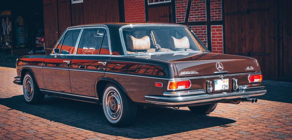 Mercedes 300 SEL 4,5 W109 ungeschweisst 1A restauriert