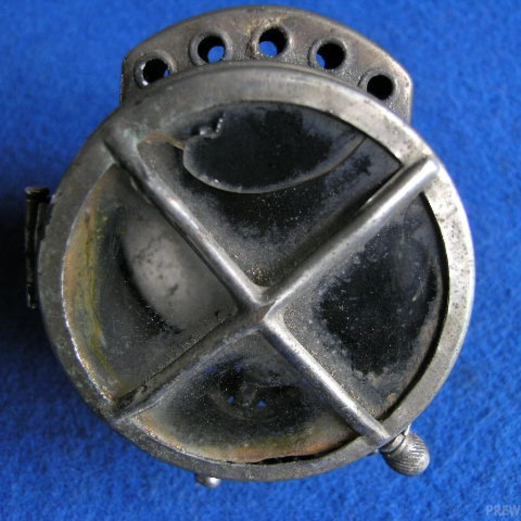 Auteroche Acetylen Rück- oder Seiten Lampe