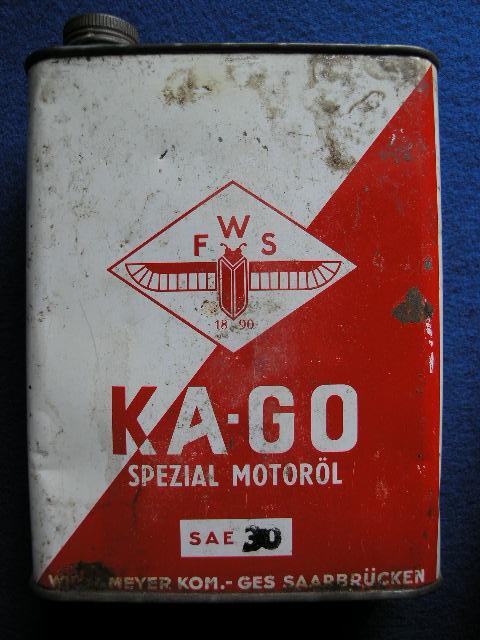 Öldose der Marke KA - GO