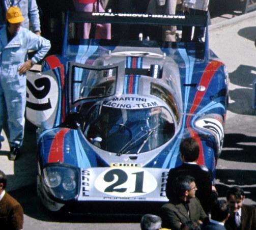 Porsche 917/20 #23/Porsche 917L #21/Porsche 917K #22 Van Lennep-Marko Winners Le Mans 1971