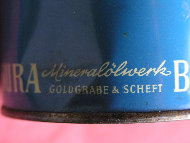 Ölkanister Wisuar vom Mineralölwerk Goldgrabe & Scheft aus Bremen