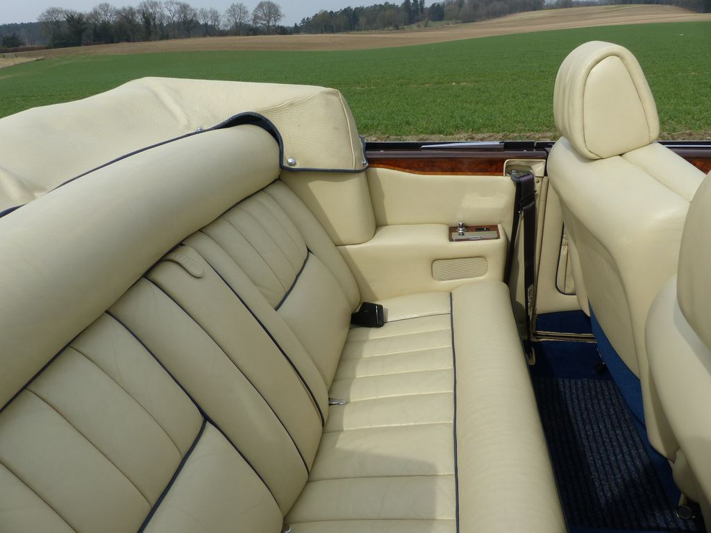 Rolls-Royce Corniche Cabriolet - Einer von 587 Linkslenkern