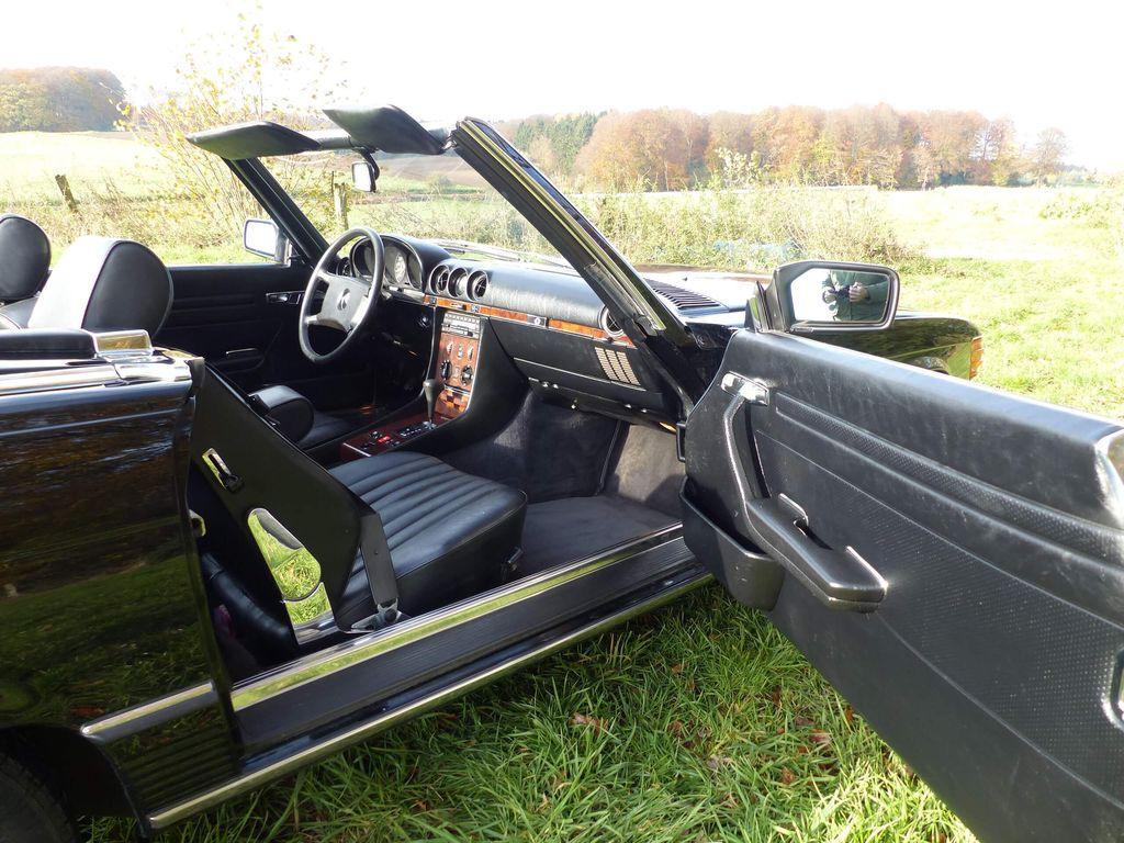 Mercedes-Benz 500 SL Roadster (R 107) - Eleganter Klassiker mit wenig Laufleistung