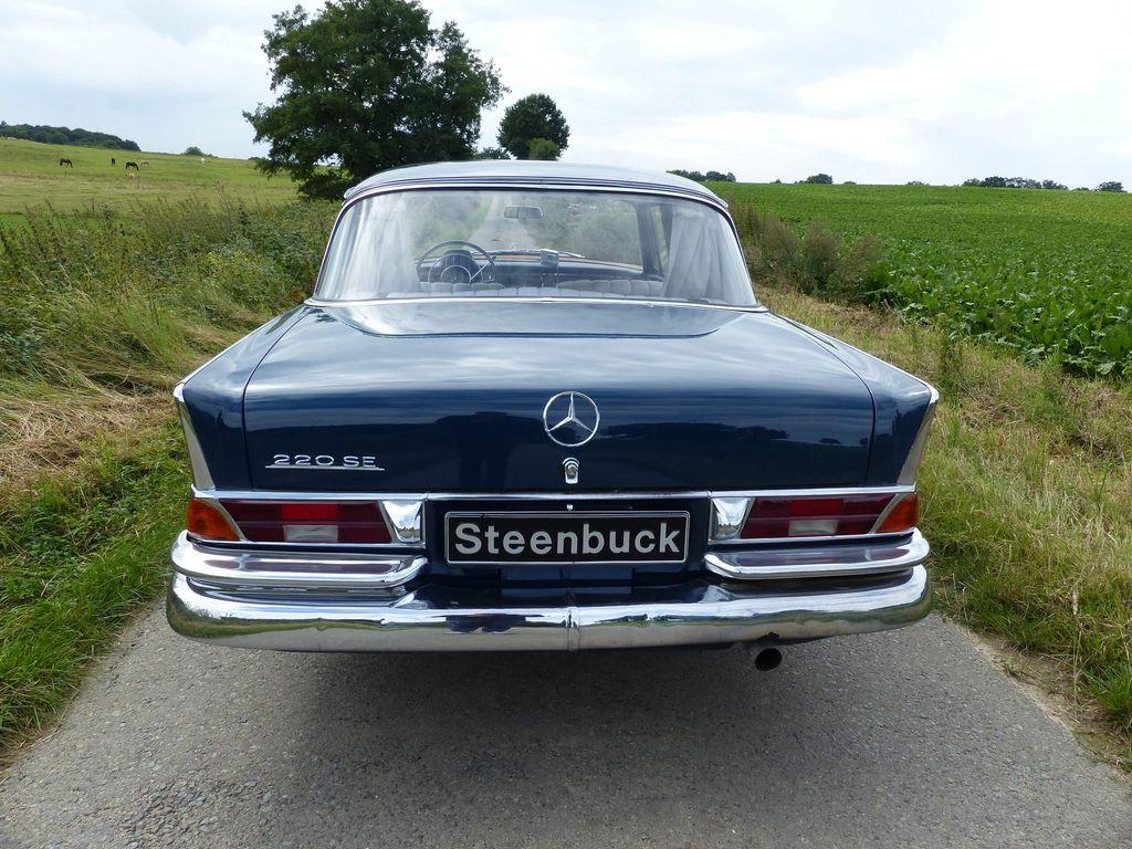 Mercedes-Benz 220 SE b Limousine (W 111) - Dezente Eleganz und viel Platz
