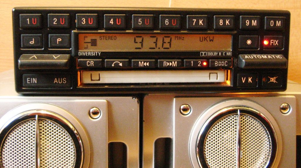 Becker Mexico BE 830 Doppeltuner Radio für Mercedes W126 W140 W129 R107 mit CODE