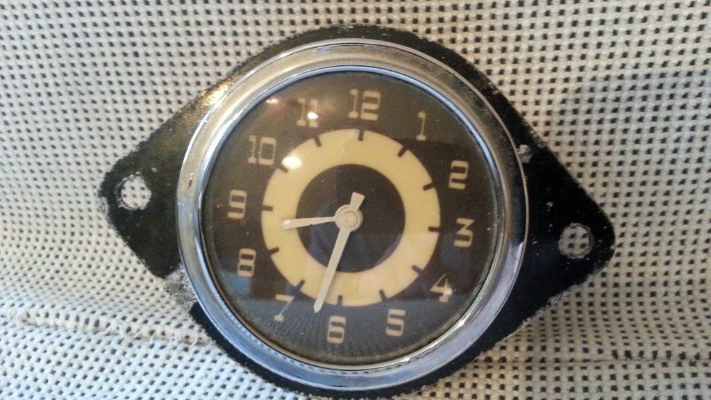 Opel Kapitän, Admiral, Uhr für Handschuhfach Köhler ca. 1938