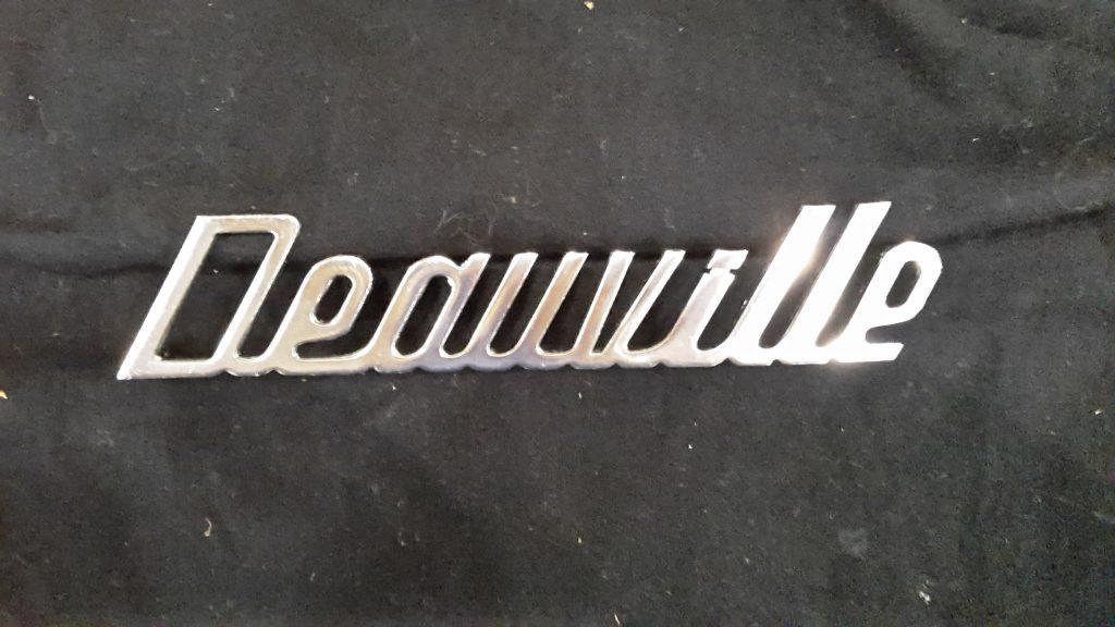 DeTomaso Original Schriftzug  Deauville
