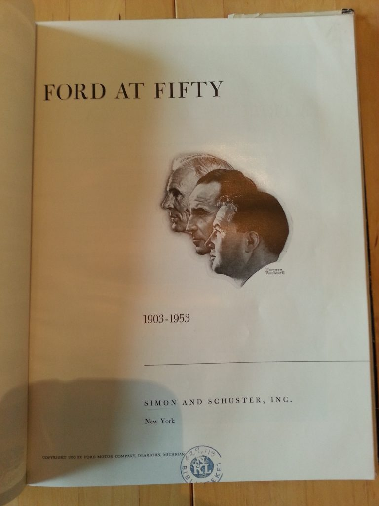 Ford at fifty An American Story 1903-1953 USA Modelle, 50 Jahre Ford 1953