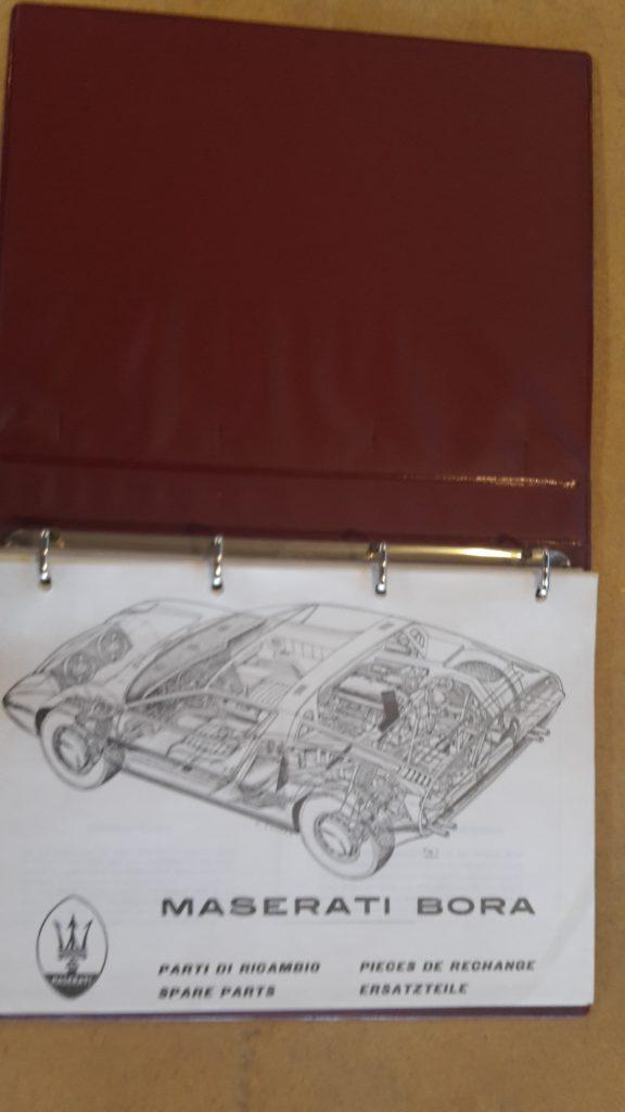 Ersatzteilkatalog Original Maserati Bora