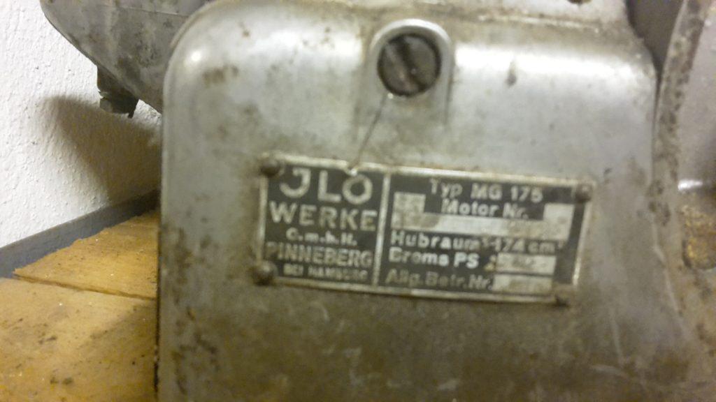 ILO Motor MG 175 für Kleinschnittger F 125