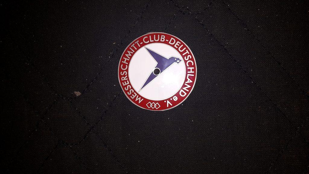 Plakette Messerschmitt Club