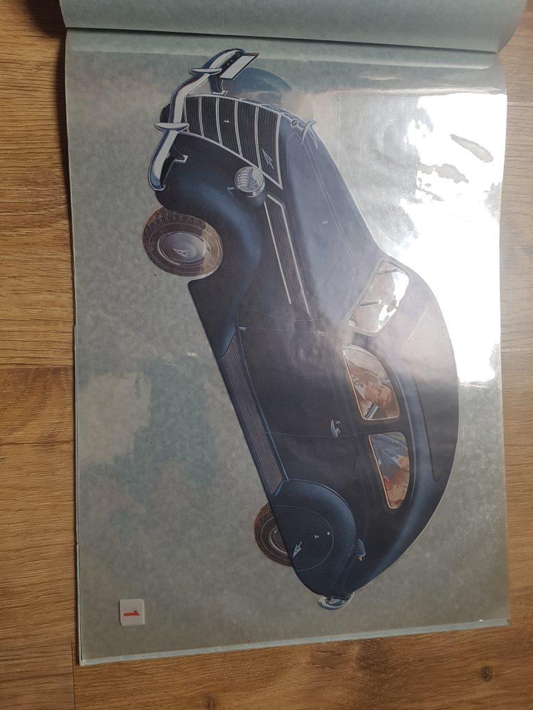 Ford V8 Karosserie Prospekt 1938 Transart Thomas Abeking 1938 Ford A.G. Köln