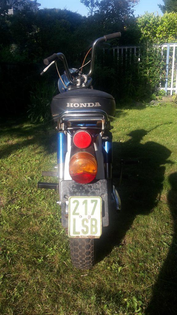 Honda Chaly CF 50 Schwestermodell von Honda DAX und Honda Monkey