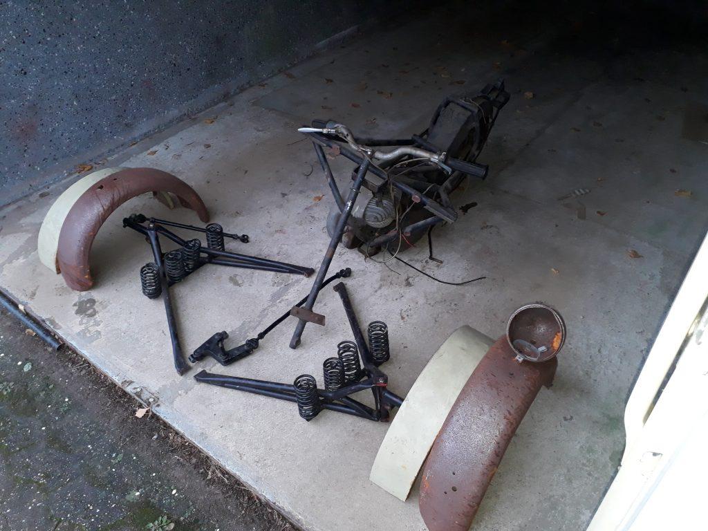 Messerschmitt / Fend Lastenroller  zum Fertig restaurieren