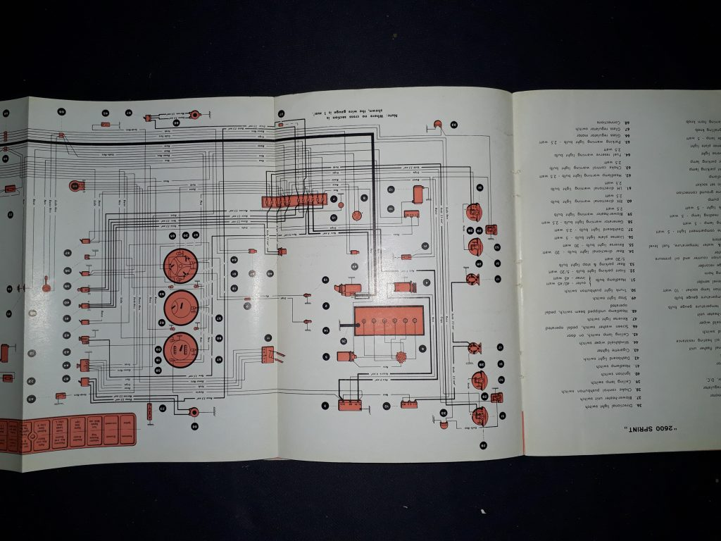 Betriebsanleitung  Original  Alfa Romeo 2600 Instruction book 7-1962