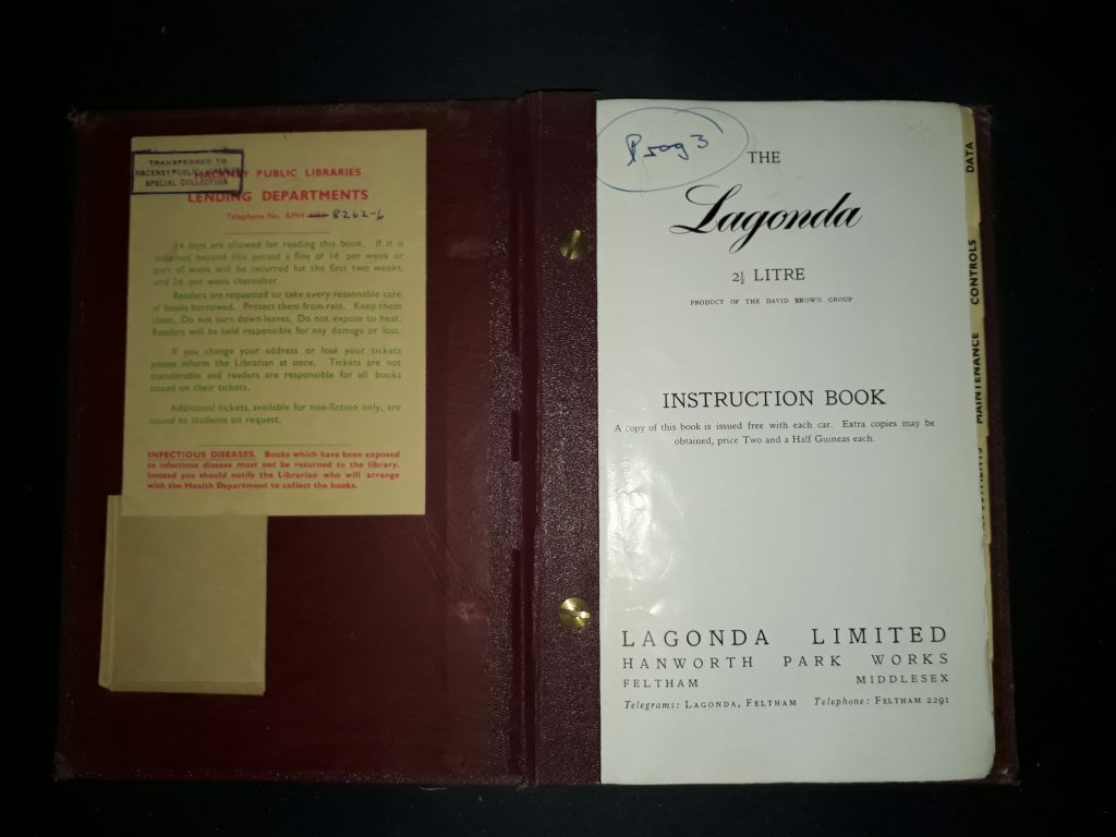 BETRIEBSANLEITUNG ORIGINAL LAGONADA 2  1/2 Liter  Instruction Book