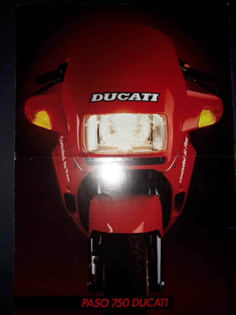 Motorrad Prospekt Ducati Paso 750