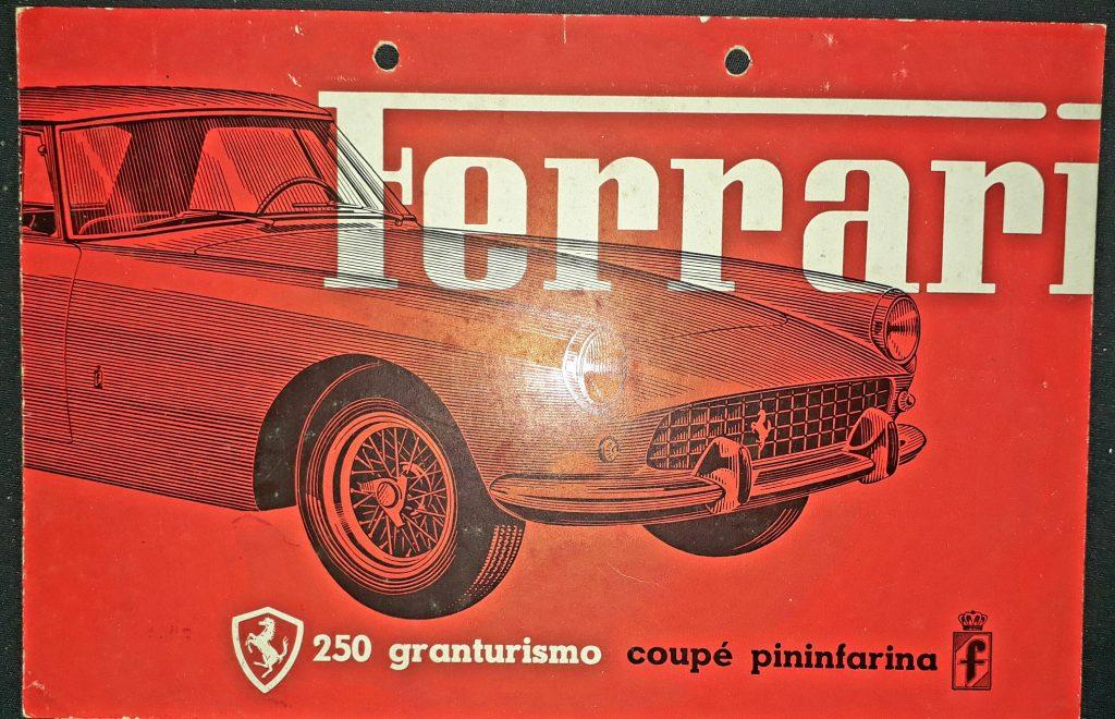 Original Verkaufsprospekt Ferrari 250