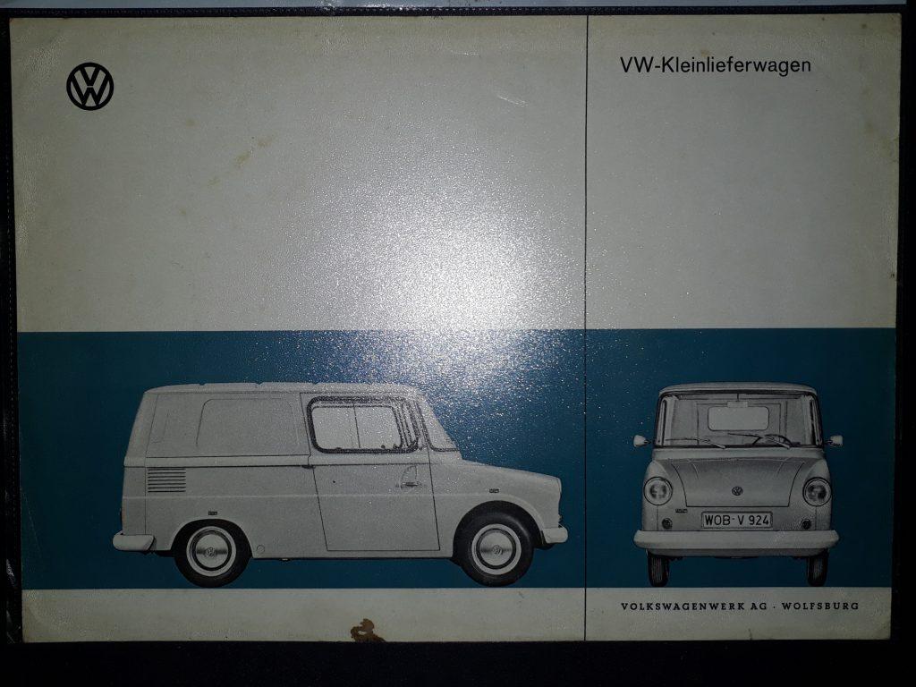 Original Verkaufsprospekt VW Fridolin/ 147