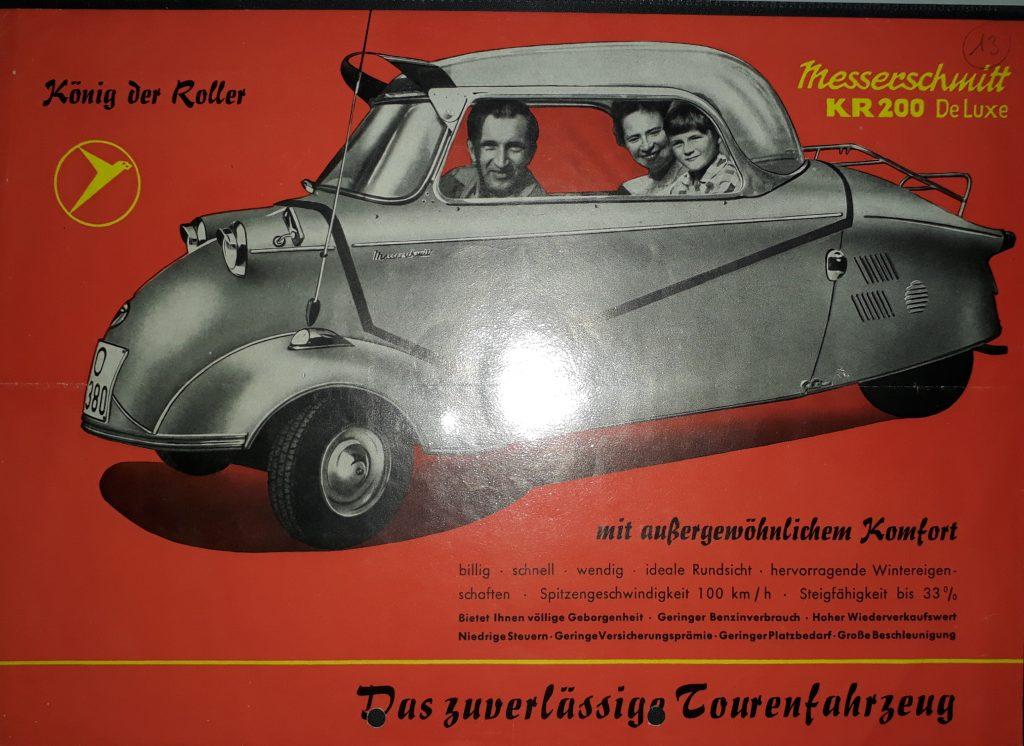 Original Verkaufsprospekt Messerschmitt KR200
