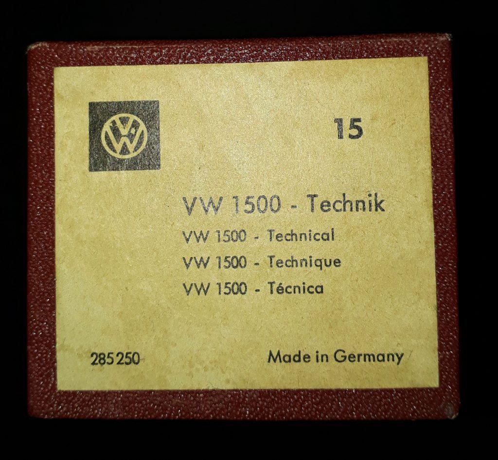 Original VW Kundendienst Schulungs  Dias Typ3