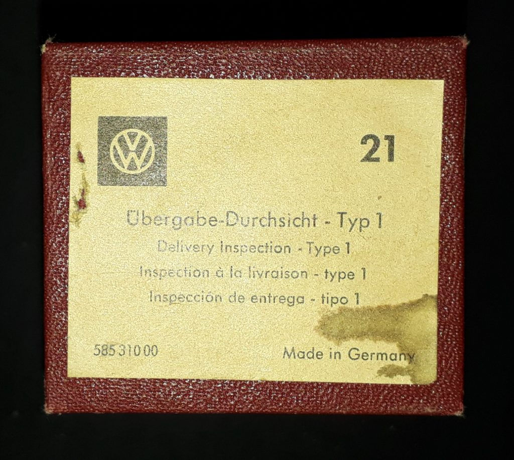 Original VW Kundendienst Schulungs  Dias Typ1