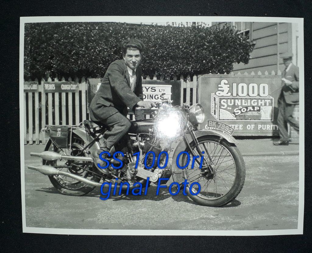 Original Foto Brough Superior SS100
