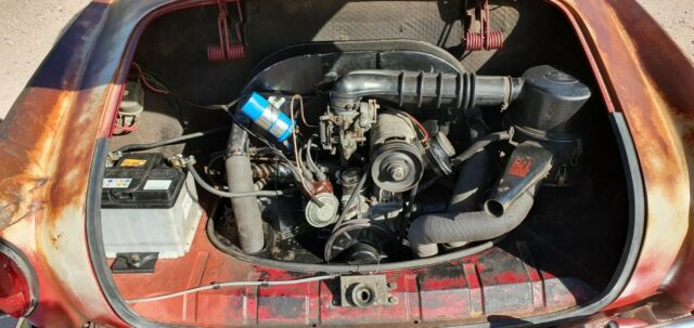 Volkswagen Karmann Ghia coupe patina monster