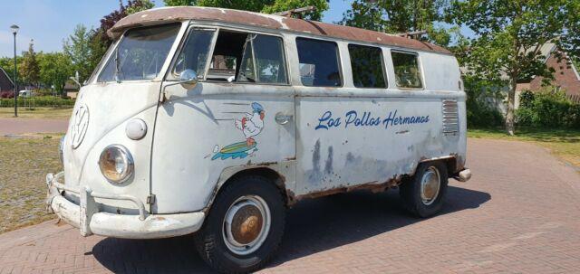 Volkswagen T1 Kombi fahrbereit und Patina, VW T1, T1 Bulli, Volkswagen Bus,
