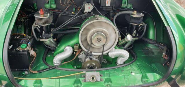 Volkswagen Karmann Ghia mit 120PS