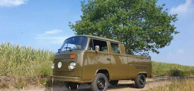 Volkswagen T2 T2b DoKa wunderschon ex Armee, VW Bus, Volkswagen Doka, T2B Doka