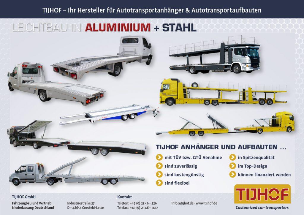 """Volkswagen Crafter 50 + TIJHOF """"AluLiner""""_SONDERPREIS_"""