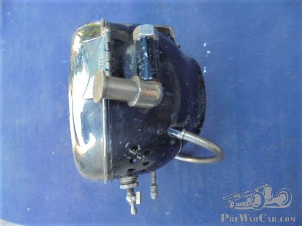 Vorkriegs-Karbit-Fernscheinwerfer neuwertig 1890 - 1915 mit Fernlicht