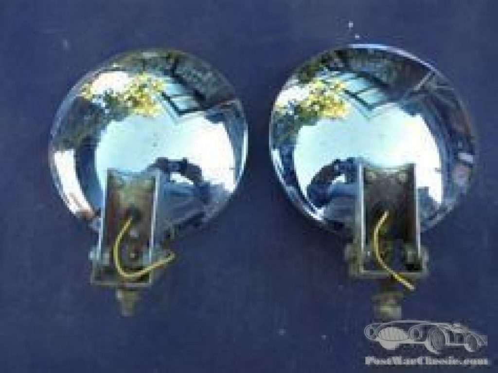 pair headlights IPF Halogen