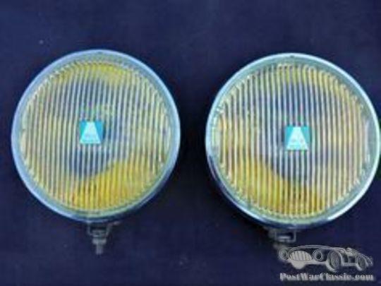 pair headlights Hella new old stock, Model 192