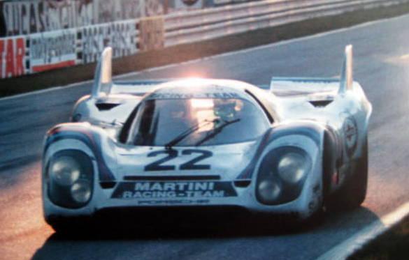 Porsche 917K #22 Gijs Van Lennep-Helmut Marko Winners Le Mans 1971
