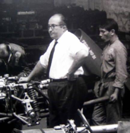 Ferrari 156 Dino F1 (Shark Nose) Carlo Chiti Teamchef France Grand Prix 1961 Reims